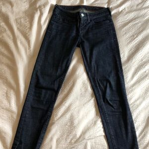 Anthropologie cropped stretch jeans